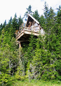 Dormire originale in norvegia 5w magazine - Casa sugli alberi ...