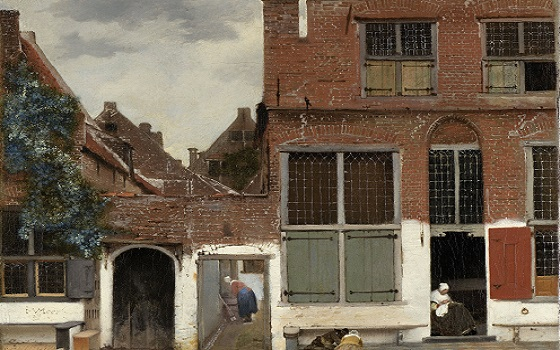 Vermeer House Painting